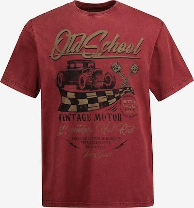 STHUGE Shirt in de kleur Donkerrood, Productweergave