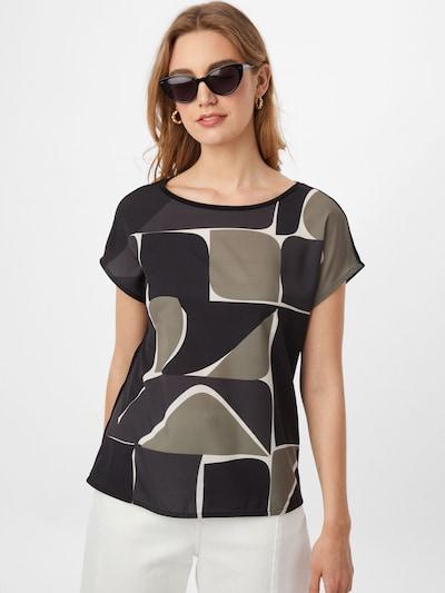 OPUS Bluse 'Susa' in graphit / greige / schwarz, Modelansicht
