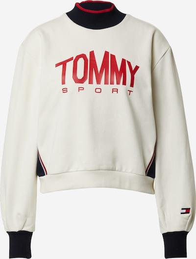 Tommy Sport Sportska sweater majica u crvena / bijela, Pregled proizvoda