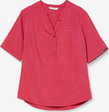 VAUDE Funktionsbluse in Rot