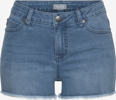TAMARIS Shorts in blue denim, Produktansicht