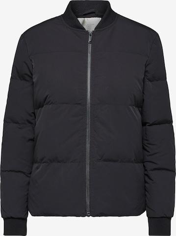SELECTED FEMME Between-Season Jacket 'DAVY' in Black