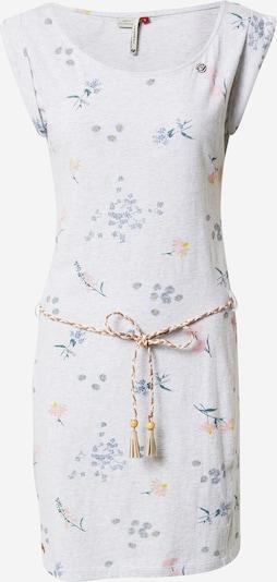 Ragwear Kleid 'Tamy' in taubenblau / gelb / grün / pfirsich / weiß, Produktansicht