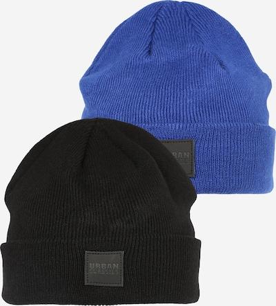 Urban Classics Kids Beanie in blau / schwarz, Produktansicht