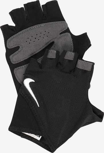 NIKE Accessoires Rękawiczki sportowe w kolorze szaro-beżowy / czarnym, Podgląd produktu
