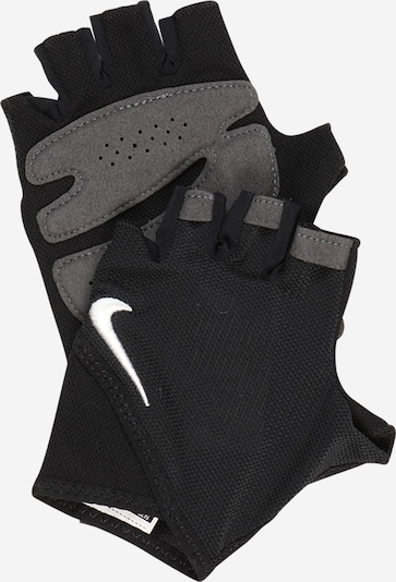 NIKE Accessoires Sporta cimdi pelēcīgs / melns, Preces skats