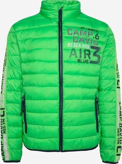 CAMP DAVID Veste d'hiver en vert, Vue avec produit