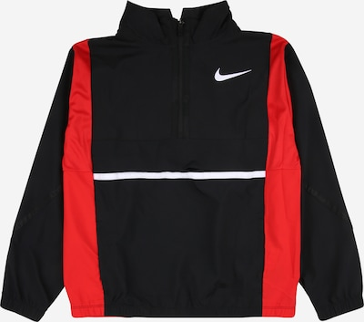 NIKE Sportjacke in rot / schwarz / weiß, Produktansicht