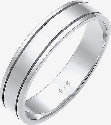ELLI PREMIUM Ring 'Ehe, Basic' in Zilver