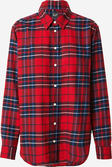 GAP Blouse 'EVERYDAY' in blue / red / white, Item view