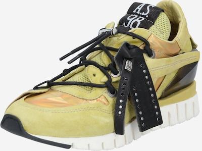 A.S.98 Sneaker 'DENASTAR' in apfel / apricot / schwarz, Produktansicht