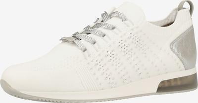 ARA Sneakers laag in de kleur Zilver / Wit, Productweergave