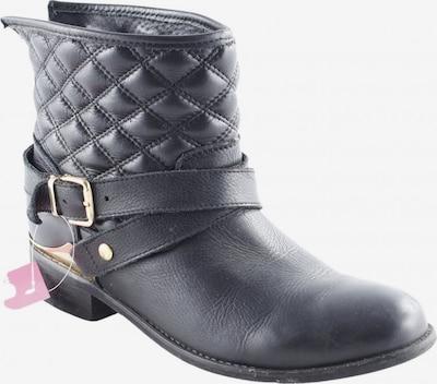 AKIRA Ankle Boots in 38 in gold / schwarz, Produktansicht