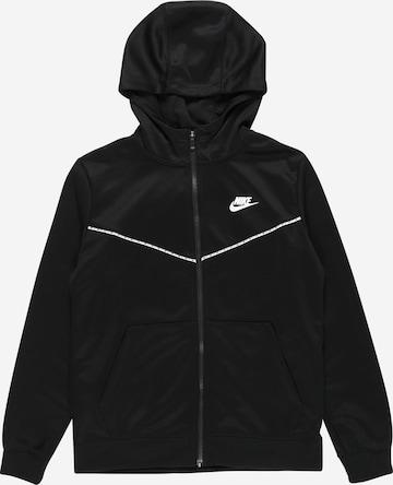 Veste de sport 'Repeat' Nike Sportswear en noir