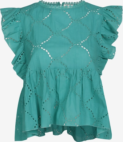 IZIA Blouse in de kleur Turquoise, Productweergave