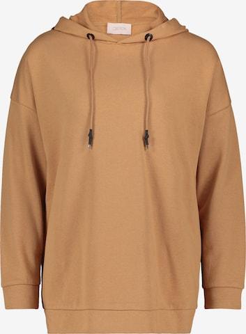 Cartoon Sweatshirt in Brown