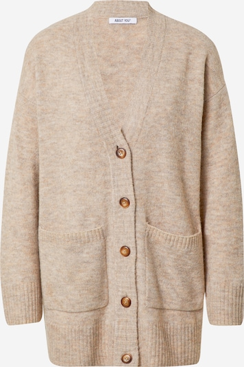 ABOUT YOU Knit Cardigan 'Rita' in Light brown, Item view