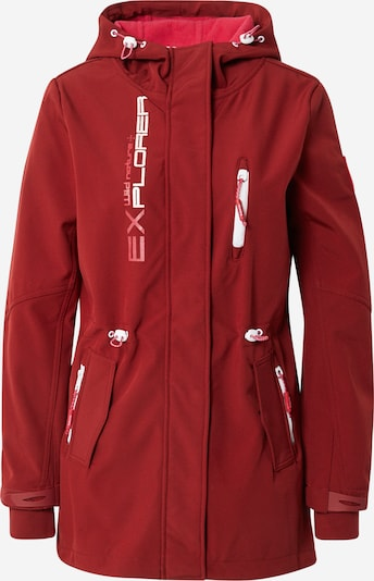 Sublevel Between-Seasons Parka in Red / White, Item view