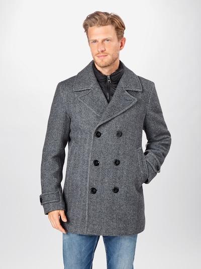 TOMMY HILFIGER Manteau mi-saison en gris, Vue avec modèle