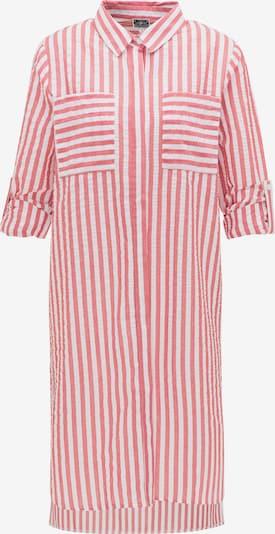 DreiMaster Maritim Kleid in hellrot / weiß, Produktansicht