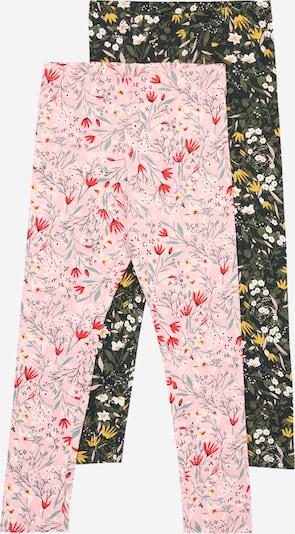 NAME IT Leggings 'KAMILLA' in gelb / dunkelgrün / rosa / rot, Produktansicht