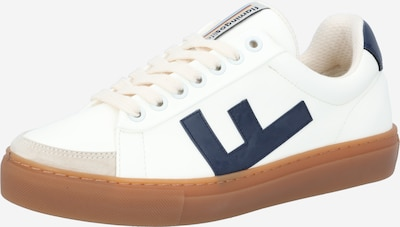Flamingos' Life Baskets basses 'CLASSIC 70's kicks' en beige clair / bleu marine / blanc, Vue avec produit