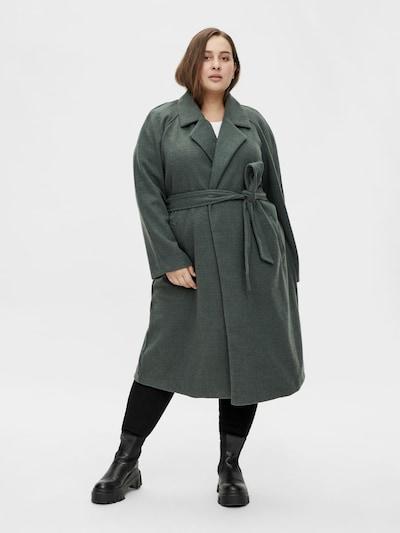 VILA Übergangsmantel in dunkelgrün, Modelansicht