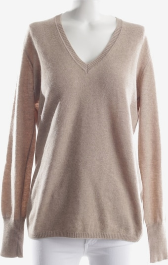Malo Pullover / Strickjacke in L in hellbraun, Produktansicht