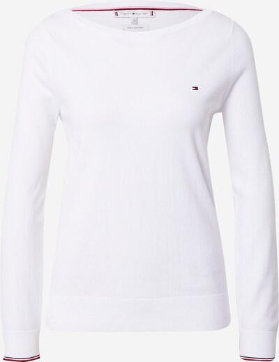 TOMMY HILFIGER Pullover in weiß, Produktansicht