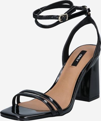ONLY Strap sandal 'ALYX' in black, Item view