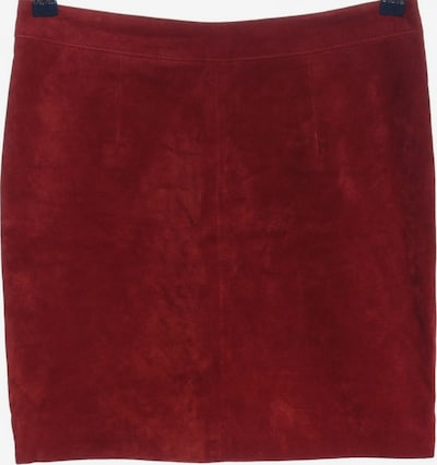 VERO MODA Lederrock in XS in rot, Produktansicht