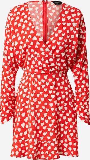 AX Paris Kleid in rot / weiß, Produktansicht