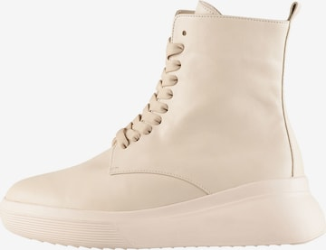 Högl Lace-Up Ankle Boots 'Warren' in Beige