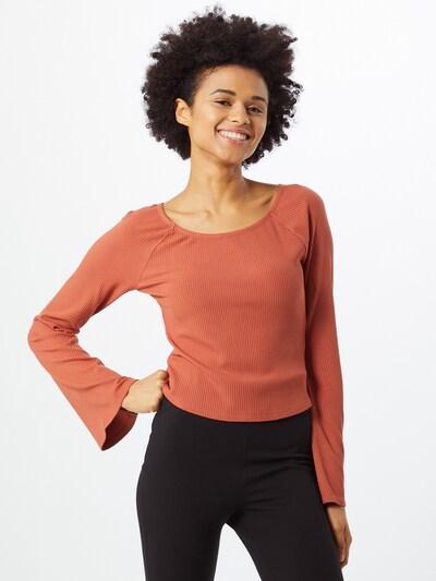 ABOUT YOU Majica 'Juli' u hrđavo crvena: Prednji pogled
