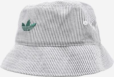 Cappello ADIDAS ORIGINALS di colore grigio scuro / smeraldo / bianco, Visualizzazione prodotti
