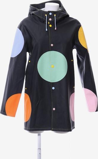 UNBEKANNT Regenmantel in XXS in gelb / hellgrün / schwarz, Produktansicht