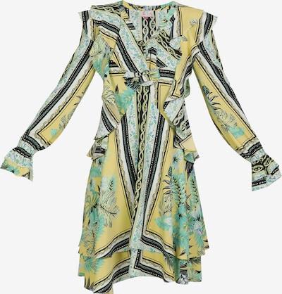 IZIA Kleid in gelb / mischfarben, Produktansicht