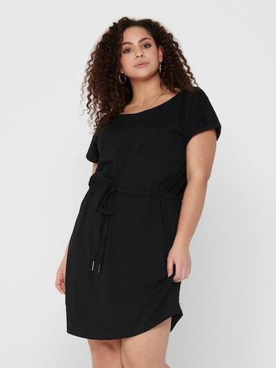 ONLY Carmakoma Kleid 'April' in schwarz, Modelansicht