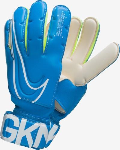 NIKE Sporthandschoenen 'Vapor' in de kleur Blauw / Wit, Productweergave