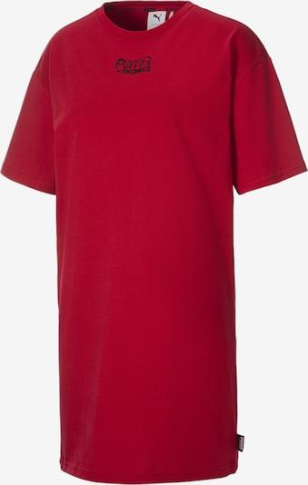 PUMA Kleid in feuerrot / schwarz, Produktansicht