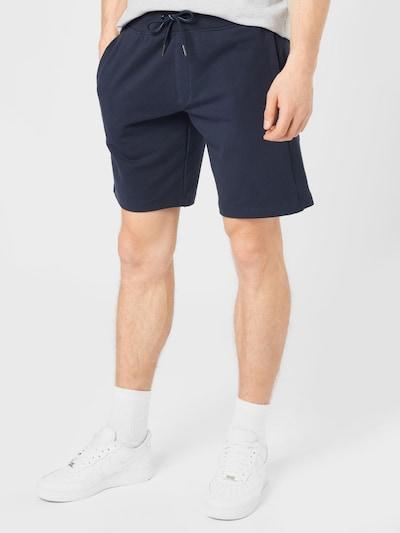 Pantaloni 'NIGEL' GUESS di colore navy / rosso chiaro / bianco, Visualizzazione modelli