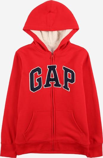 GAP Sweatvest in de kleur Navy / Rood / Wit, Productweergave