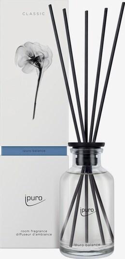 ipuro Raumduft 'Balance' in schwarz / transparent, Produktansicht