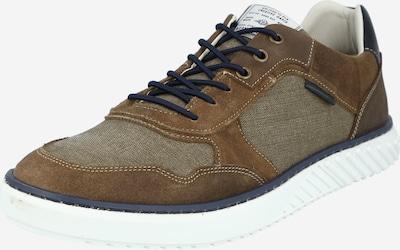 BULLBOXER Sneaker in marine / braun, Produktansicht