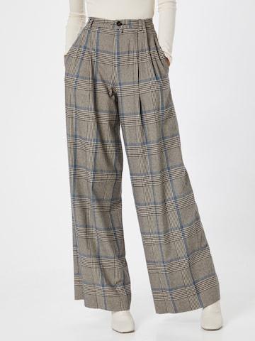 DRYKORN Plissert bukse 'ELATE' i brun