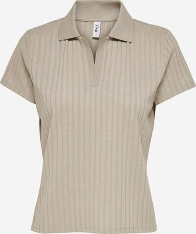 ONLY Poloshirt in de kleur Beige, Productweergave