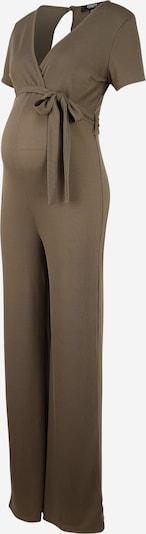 Missguided Maternity Jumpsuit in khaki, Produktansicht
