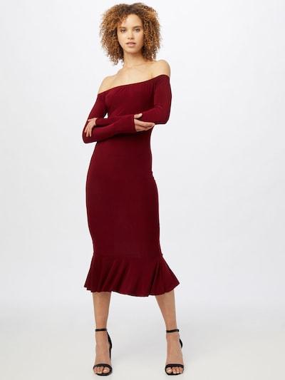 Femme Luxe Kleid 'CICI' in burgunder, Modelansicht