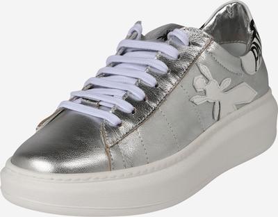 PATRIZIA PEPE Zapatillas deportivas bajas en gris / negro / plata, Vista del producto