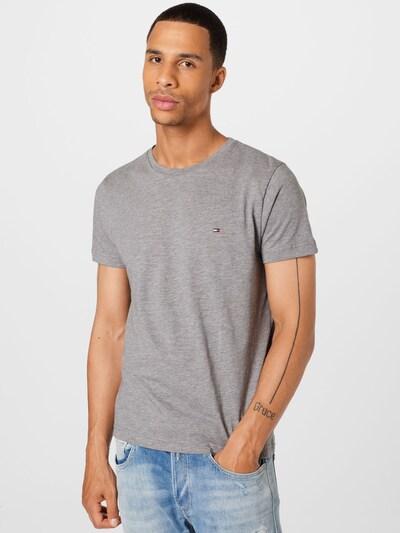 TOMMY HILFIGER Тениска в сив меланж: Изглед отпред
